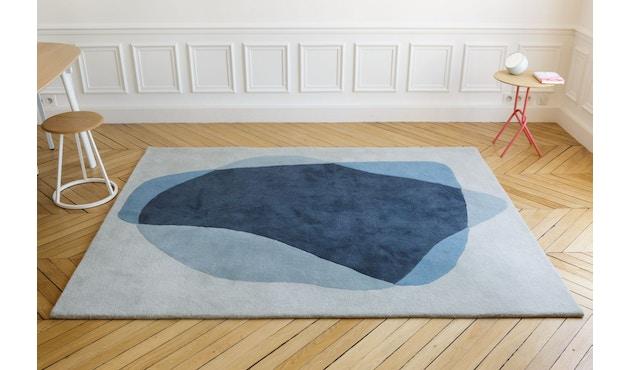 Harto - Serge vloerkleed - groen/blauw - 4