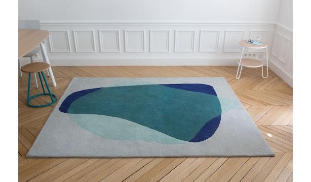 Harto - Serge vloerkleed - groen/blauw - 5