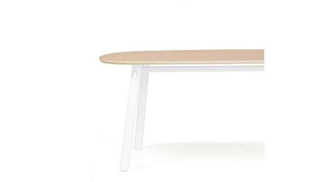 Harto - Table Celeste - blanc - 180 x 100 cm - 2