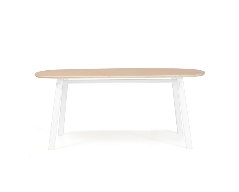 Harto - Table Celeste - blanc - 180 x 100 cm - 3