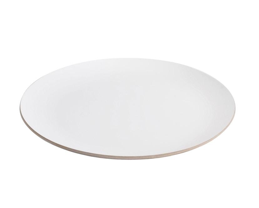 Harto - Ernest Zeitschriftentisch - weiß - Gestell weiß - 1