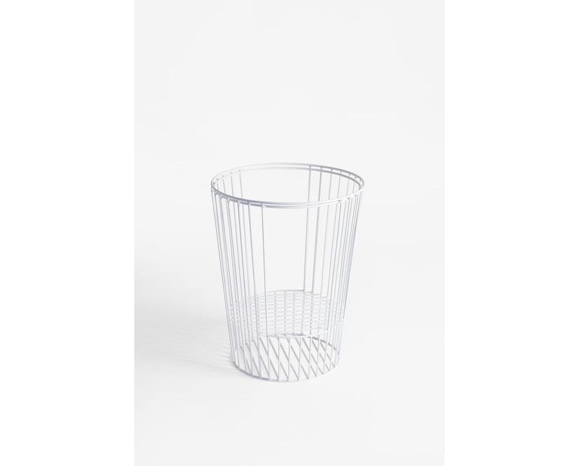 Harto - Ernestin Zeitschriftentisch - weide/weiß - Gestell weiß - 0