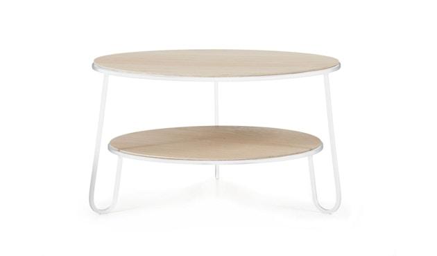 Harto - Eugenie salontafel  - 70 cm - Eiken/wit - 1