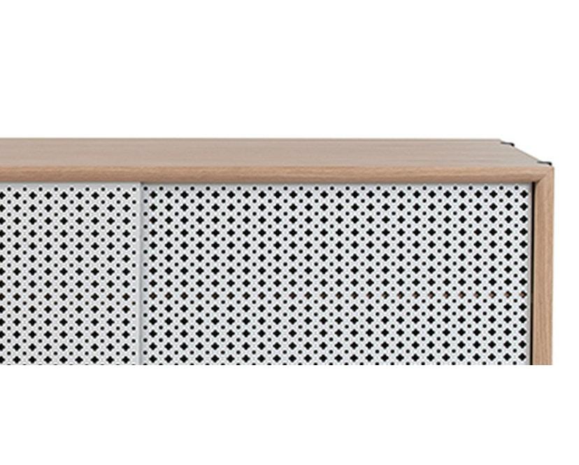 Harto - Gabin Sideboard mit Schubladen - Eiche - lichtgrau - 6