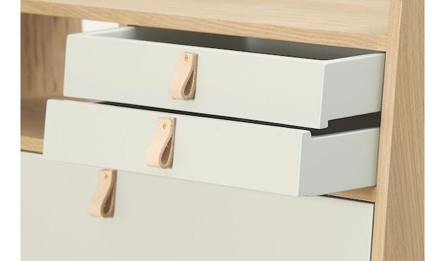Harto - 1 große Schublade für Gaston Wandsekretär  - 60 cm & 80 cm - 1