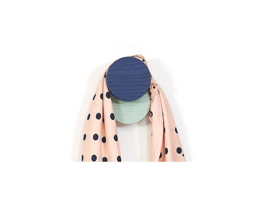 Harto - Lou Wandhaken - marineblau & pastellgrün - 1