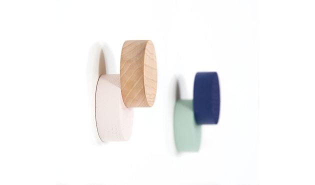 Harto - Lou Wandhaken - marineblau & pastellgrün - 2