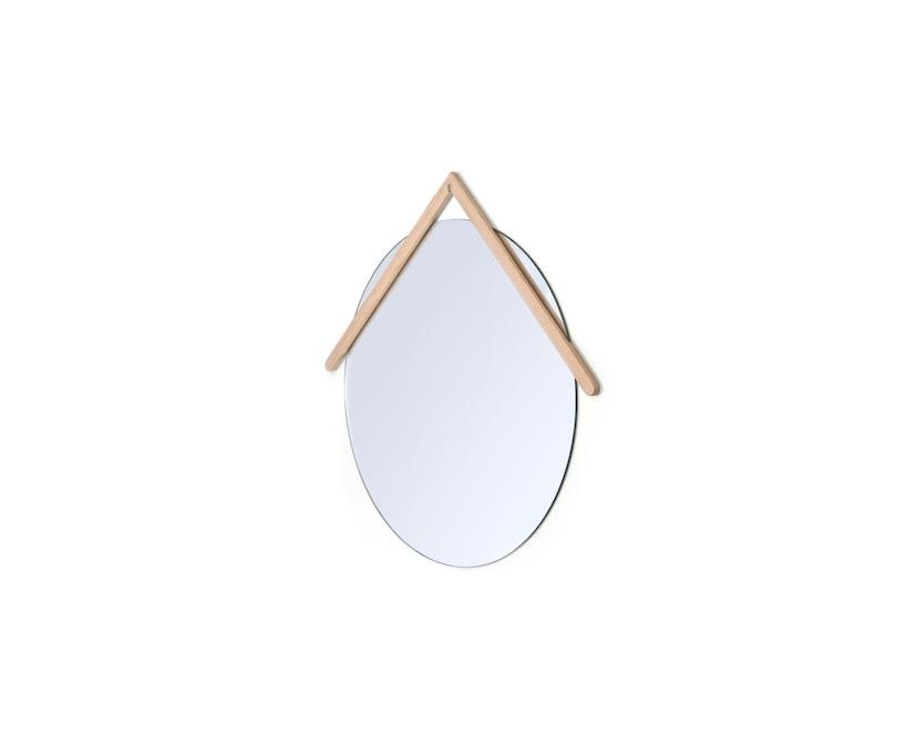 Harto - Lubin Wandspiegel - 55 cm - natureiche - 2