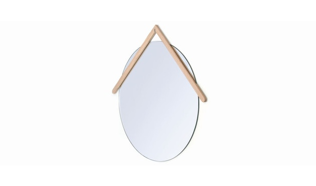 Harto - Lubin Wandspiegel - 55 cm - natureiche - 1