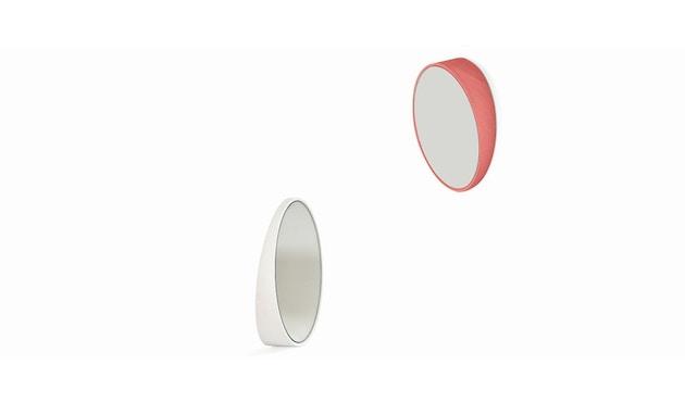 Harto - Odilon spiegel - 80 cm - lichtroze - 2