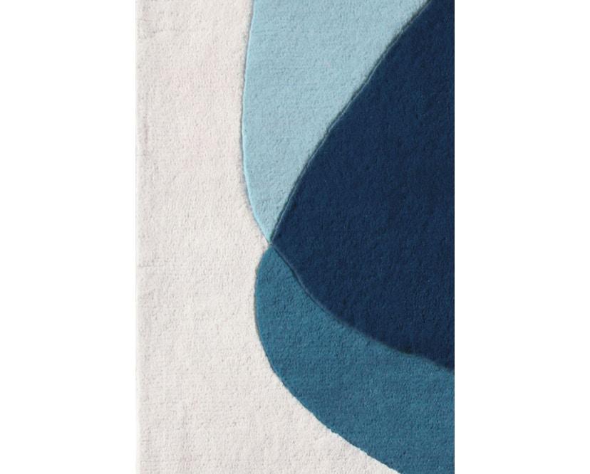 Harto - Tapis Serge - bleu/gris - 2