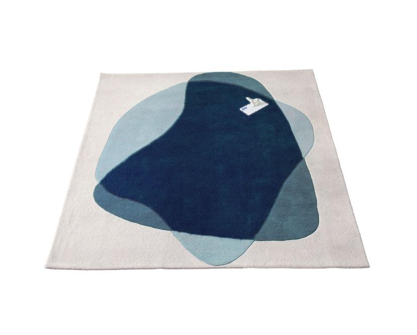 Harto - Tapis Serge - bleu/gris - 3