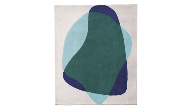 Harto - Serge vloerkleed - groen/blauw - 1