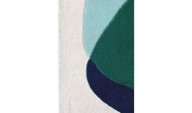 Harto - Serge vloerkleed - groen/blauw - 2