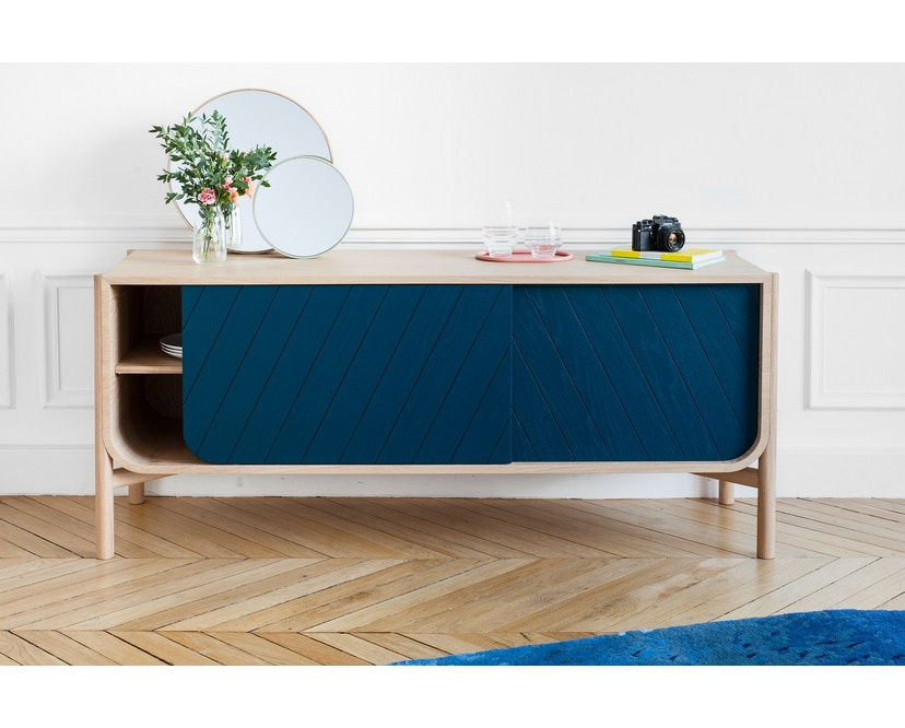 Harto - Marius Sideboard - 185 cm petrolblau  - 3