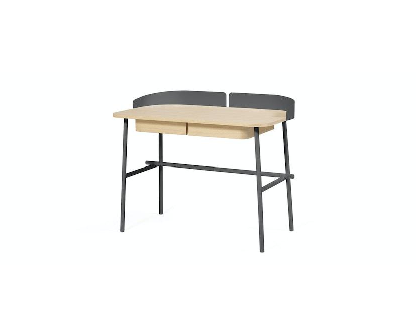 Harto - Victor Büro Schreibtisch - schiefergrau - 2