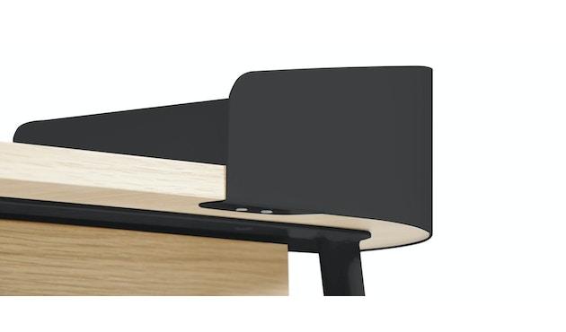 Harto - Victor Büro Schreibtisch - schiefergrau - 5