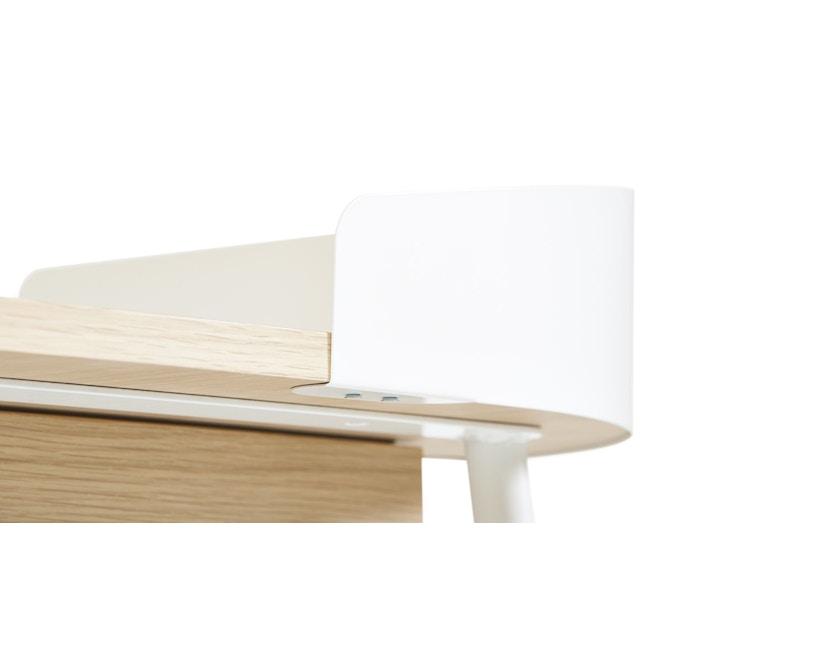 Harto - Victor Büro Schreibtisch - weiß - 2