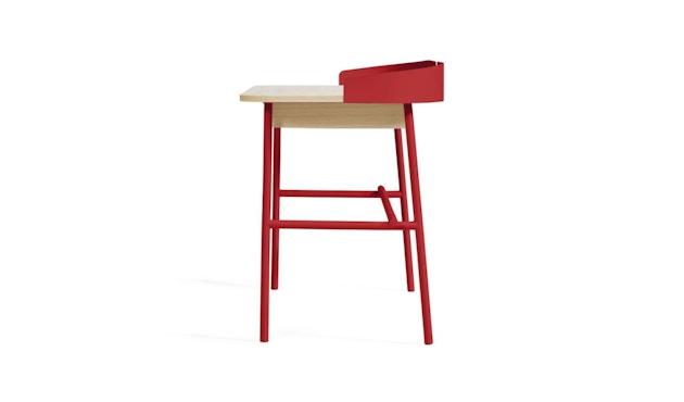 Harto - Victor Büro Schreibtisch - kirschrot - 5
