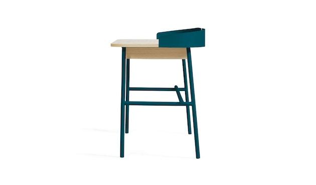Harto - Victor Büro Schreibtisch - petrolblau - 4
