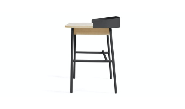 Harto - Victor Büro Schreibtisch - schiefergrau - 3