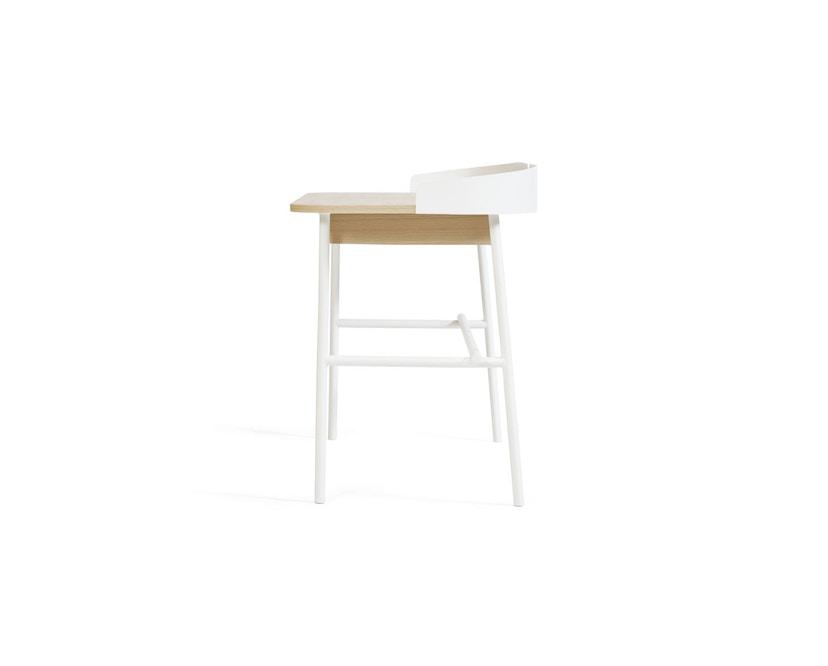 Harto - Victor Büro Schreibtisch - weiß - 3