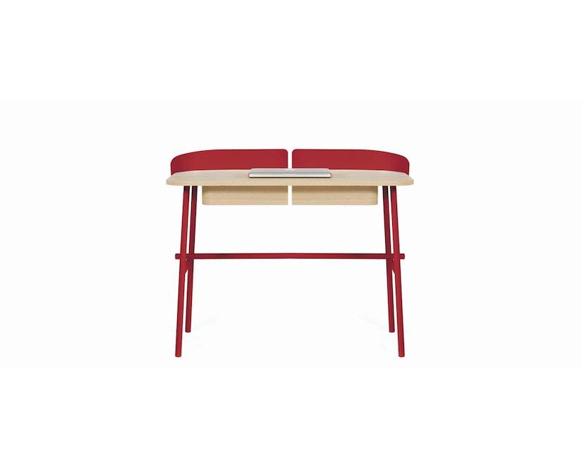 Harto - Victor Büro Schreibtisch - kirschrot - 1