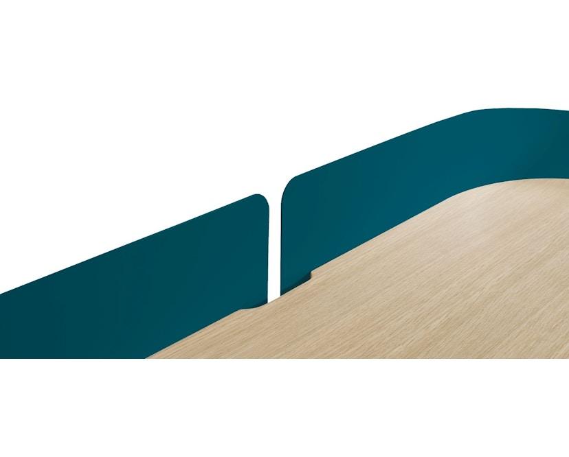 Harto - Victor Büro Schreibtisch - petrolblau - 5