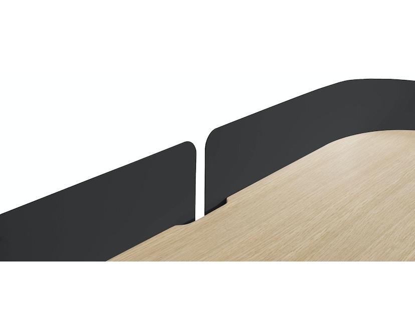 Harto - Victor Büro Schreibtisch - schiefergrau - 6