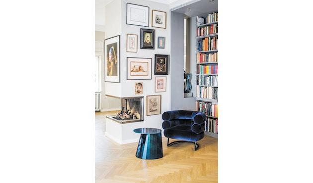Classicon - Bibendum Sessel - Stoff Manila schwarz - Gestell schwarz - 10