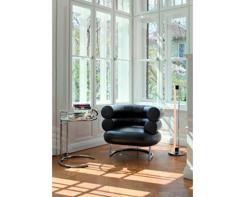 Classicon - Bibendum Sessel - Stoff Manila schwarz - Gestell schwarz - 9