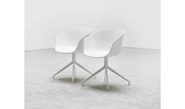 HAY - About a Chair AAC 20 - Sitz schwarz - Gestell schwarz - 4