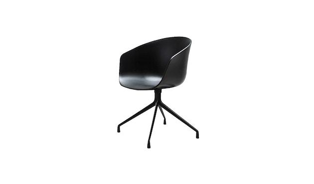 HAY - About a Chair AAC 20 - Sitz schwarz - Gestell schwarz - 3