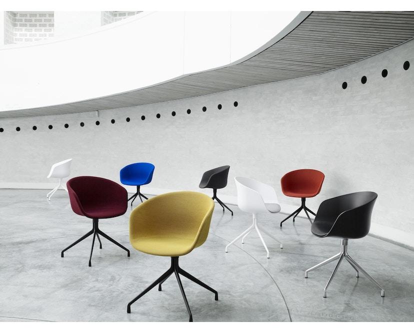 HAY - About a Chair AAC 20 - mosterdgeel - Aluminium, gepolijst - 6