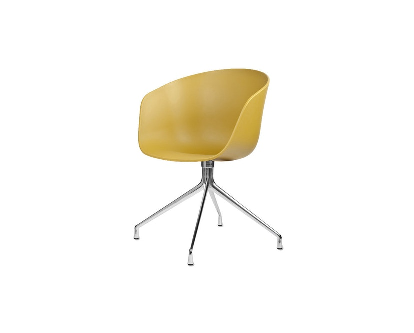 HAY - About a Chair AAC 20 - mosterdgeel - Aluminium, gepolijst - 3