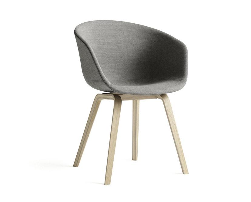 HAY - About a Chair AAC 23 - bezogene Sitzschale - Hallingdal 110 - Eiche geseift - 6