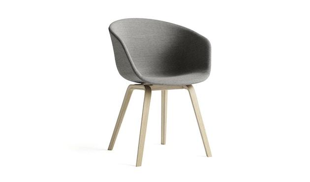 HAY - About a Chair AAC 23 - bezogene Sitzschale - Hallingdal 180 - Eiche geseift - 3