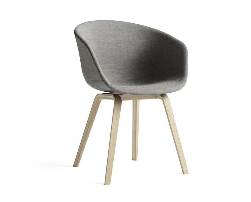 HAY - About a Chair AAC 23 - bezogene Sitzschale-Remix163 - Eiche geseift - 3