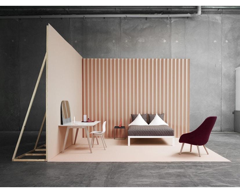 HAY - About A Chair Low AAC 42 - schwarz - Esche schwarz gebeizt - 3