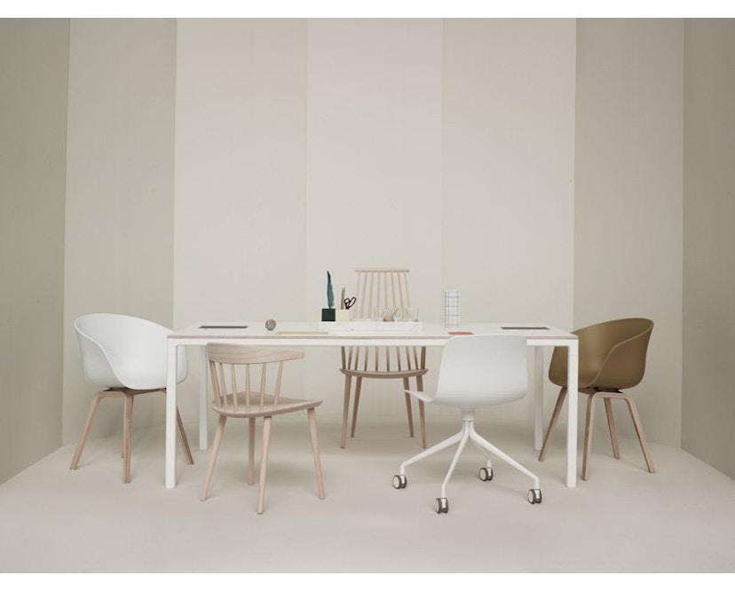 HAY - About A Chair Low AAC 42 - schwarz - Esche schwarz gebeizt - 5