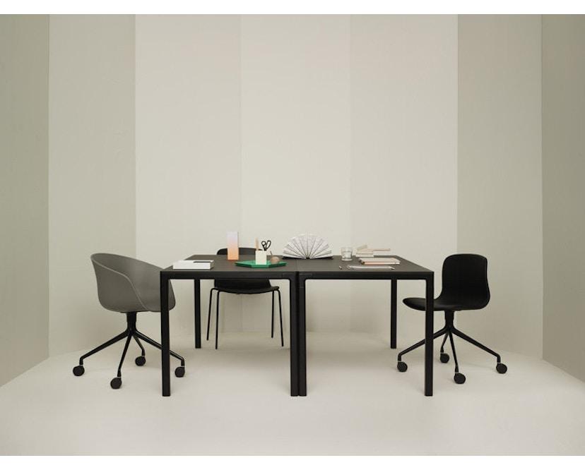 HAY - About A Chair Low AAC 42 - schwarz - Esche schwarz gebeizt - 6