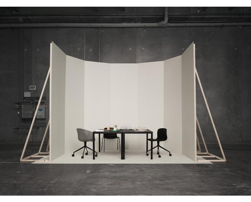 HAY - About A Chair Low AAC 42 - zwart gebeitst - zwart - 7