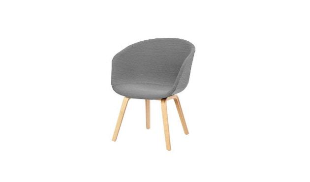 HAY - About A Chair Low AAC 43 - chêne savonné - Remix 133 - gris - 10