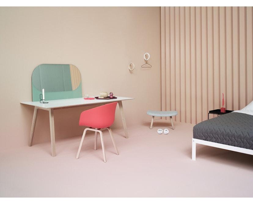 HAY - About A Chair Low AAC 43 - chêne savonné - Remix 133 - gris - 12