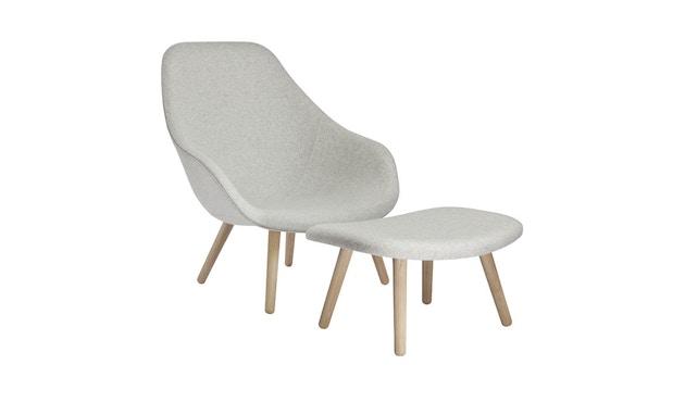 HAY - About A Lounge Chair High AAL 92 - Remix 113 - Gestell schwarz gebeizt - 6