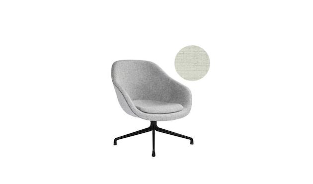 HAY - About A Lounge Chair Low AAL 81 - Remix 113 - Aluminium pulverbeschichtet schwarz - 3