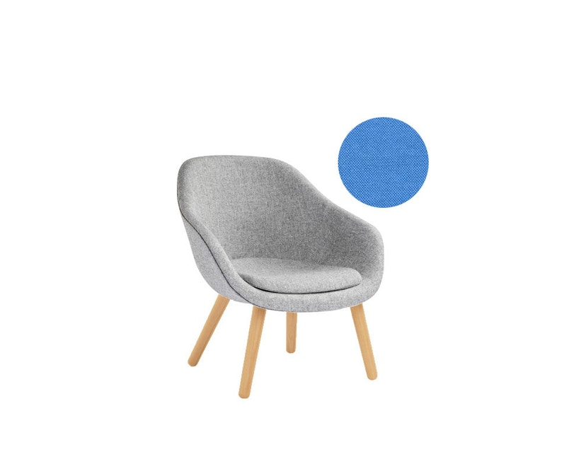 HAY - About A Lounge Chair Low AAL 82 - Remix 743 - Eiche klar lackiert - 4