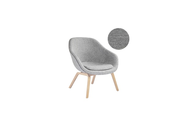 HAY - About A Lounge Chair Low AAL 83 - Remix 133 - Eiche geseift - 6