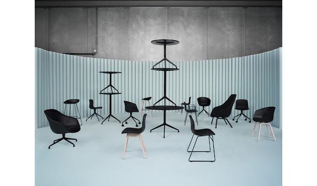 HAY - About A Lounge Chair Low AAL 83 - Remix 133 - Esche schwarz gebeizt - 10