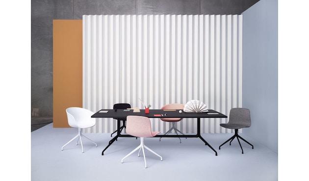 HAY - About A Table AAT 10 - Linoleum zwart, rand zwart - 160 x 80 cm - 6